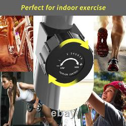 Indoor Recumbent Magnetic Exercise Bike Support Elliptical Exercise Machine New