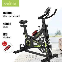 Indoor Stationary Exercise Bike Adjustable Cycling Cardio Fitness withWater Bottle