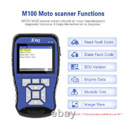 JDiagM100 motorcycle Scan Diagnostic&battery tester Tool for Honda Yamaha Suzuki