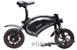 Jetson Bolt Electric Bike Black Frame / Green Stripe Tire JBOLT-BKG