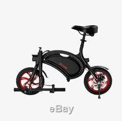 Jetson Bolt Electric Compact Commuter Bike 12 wheels Black/Red JBOLT-RED