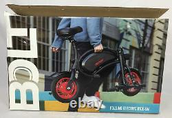 Jetson Bolt Folding E-Bike Full Throttle Electric Bicycle with LCD Display JBOLT