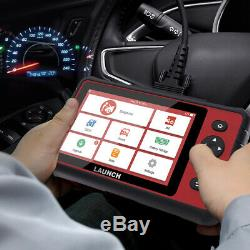 LAUNCH X431 CRP909 OBD2 Scanner All System Car Diagnostic Tablet IMMO TPMS ABS