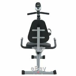 LCD Display Stationary Recumbent Exercise Bike Cardio Fitness Equipment MA