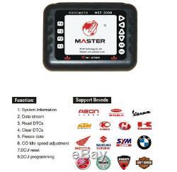 MST-3000 Asian Version Universal Motorcycle Scanner Fault Code Scanner for motor