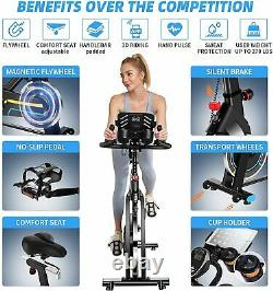Magnetic Resistance Exercise Bike with APP Connection Cycling Bike Super Quiet