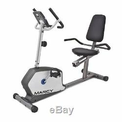 Marcy Recumbent Bike NS-1201R Home Magnetic Stationary Cardio Exercise Machine