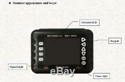 Master MST-3000 Motorcycle Scanner Fault Code Scanner for Heavy duty motorcycles