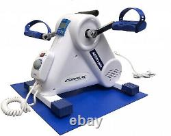 Mini Cycle Exercise Machine Compact Indoor Pedal Bike Therapy Seniors Stationary