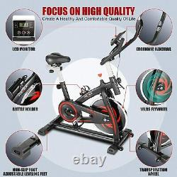 NEW! -Indoor Exercise Bike Stationary Cycling Bicycle Cardio Fitness WorkoutGITF