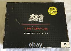 NEW SNAP ON TRITON D8 SCANNER-100th Anniversary Edition-20.2 Bundle EEMS343EUANV