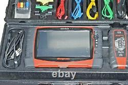 NICE Snap-On Verus Pro D10 Automotive Diagnostic Scan Tool Scanner Set + EXTRAS