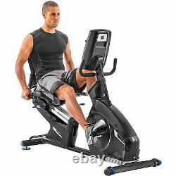 Nautilus R618 Recumbent Stationary Home Gym Cardio Cycling Workout Exercise Bike