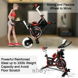 New Exercise Stationary Bike Cardio Cycling Fitness Home Indoor Workout Training