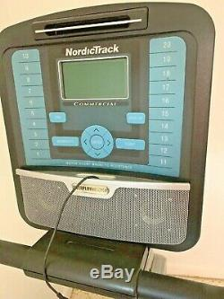 Nordic Track Commercial 400 Recumbent Stationary Bike. LOCAL PICKUP ONLY