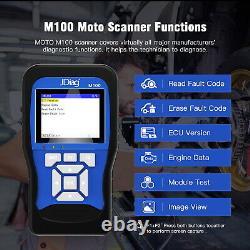 OBD OBD2 Motorrad Diagnosegerät Fehler-Code Scanner Set für Honda Yamaha Suzuki