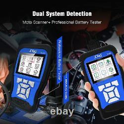 OBD2 Motorcycle Diagnostic Scanner Code Reader for Honda Kawasaki Yamaha Suzuki
