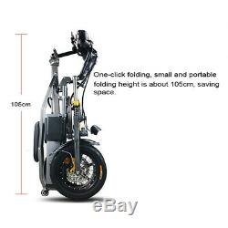 Off Road Electric Scooter Bike 30Kmh 350W 48V Foldable Bicycle 150KG Load Adult