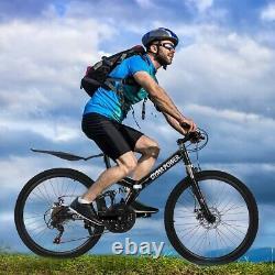 Outroad Mountain Bike 21 Speed 26 Folding Bike Double Disc Brake Bicycles