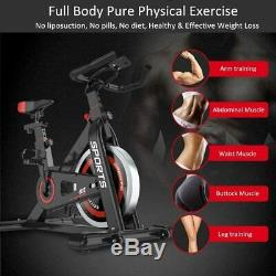 PRO Exercise Bikes Indoor Cycling Bike Stationary Fitness Home Cardio Workout US