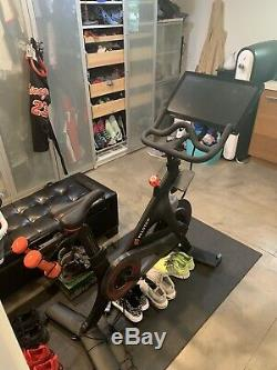 Peloton Exercise Bike (Barely Used) With Accessories