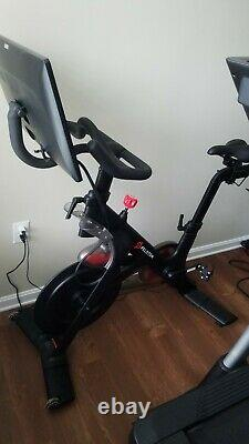 Peloton Gen 2 Bike, Excellent Condition, Large Display with 2 pairs of shoes