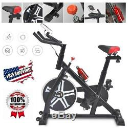 Pro Stationary Exercise Bike Bicycle Trainer Fitness Cardio Cycling Training Gym