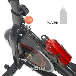 Pro Stationary Exercise Spinning Bike Cycling Bicycle Fitness Cardio Workout GYM