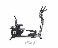 ProForm Elliptical Bike Hybrid Trainer Cardio Fitness Workout Versatile Machine