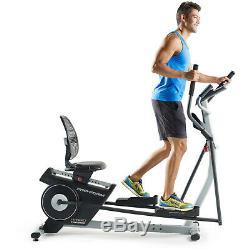 ProForm Hybrid Trainer Elliptical & Recumbent Bike, iFit Compatible PFEL03815