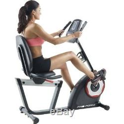 ProForm Recumbent Exercise Bike/Includes 18 Workout apps, Free Shipping