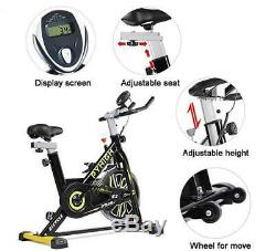 Pyhigh Indoor Cycle Bike-Exercise Bikes with Belt Drive Stationary Bikes
