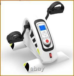 RJ-Modini- Fitness Motorized Electric Mini Exercise Bike/Pedal Exerciser White