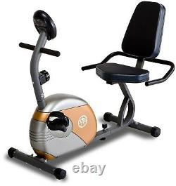 Recumbent Exercise Bike Resistance Fitness Stationary Workout Cycle Indoor Fit