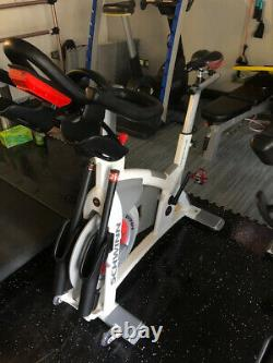 SCHWINN AC Performance + CARBON BLUE with CONSOLE Exercise Bike INDOOR CYCLING Gym