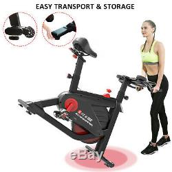 SNODE Magnetic indoor cycling bike- stationary bike for home workout exercise