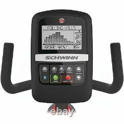Schwinn Fitness 230 Recumbent Cardio Home Workout Trainer Exercise Bike, Black
