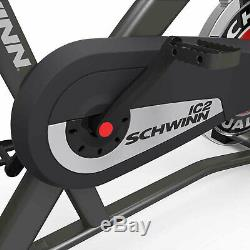Schwinn Fitness IC2 Indoor Home Workout Stationary Cycling Trainer Exercise Bike