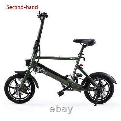 Secondhand 14 36V Electric Bike Bicycle Portable City Ebike Dual Disc Brakes