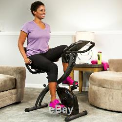 Slim Cycle 2-in-1 Exercise Bike, Health Fitness Stationary Cardio As Seen on TV