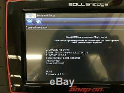 Snap On Eesc320 Solus Edge Scanner Diagnostics Version 19.2 Euro Asian Us