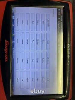 Snap On Verus Pro D10 Full Function Scanner Domestic Asian European