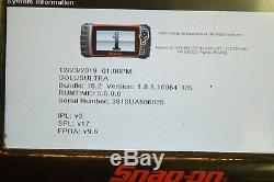 Snap-on Solus Ultra Diagnostic Full Function Scanner Dom, Asian, Euro 15.2