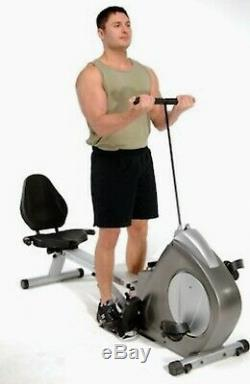 Stamina Conversion II Recumbent Bike/Rower 15-9003 Exc. Cond. LOCAL PICKUP ONLY