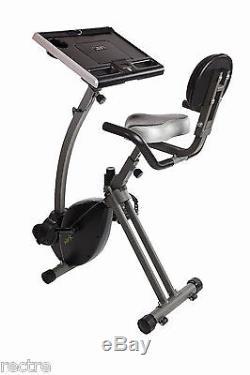 Stamina WIRK Ride EXERCISE BIKE WORKSTATION Standing Desk Stand-Up Laptop Tablet