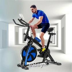 Stationary Exercise Bike Adjustable Bicycle Cardio Cycling Workout Machine Gym