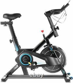 Stationary Exercise Bike Bicycle Trainer, Fitness Cardio Cycling Training Gym