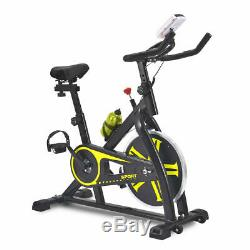 Stationary Exercise Bike Cardio Cycling Fitness Equipment Water Bottle Home Gym
