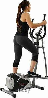 Sunny Health Fitness SFE905 Magnetic Elliptical Bike