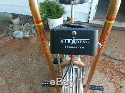 Vintage Schwinn Air-Dyne Dual Action Stationary Exercise Bike Airdyne Mint